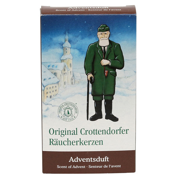 "Crottendorfer-Räucherkerzen ""Adventsduft"""